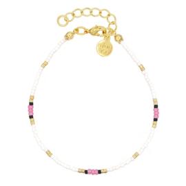 Mint 15 - Surf Beads Bracelet – Pink