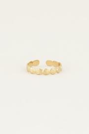 My Jewellery Ring met schelp patroon
