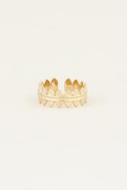 My Jewellery Ring met kleine ovaaltjes