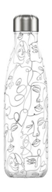 Chilly bottle Line art Faces - 500ml