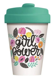 Bamboo cup Girl power