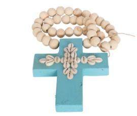 Ibiza mala met kruis en schelpen