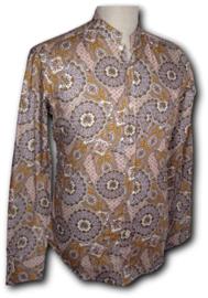 Chenaski overhemd Mao Paisley