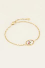 My Jewellery Armband wildflower ovaal