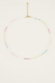 My Jewellery Kralenketting pastel regenboog