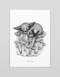 A3 Art print De vos van Fennec - Ferdy Remijn