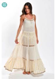 NJ Couture lange jurk