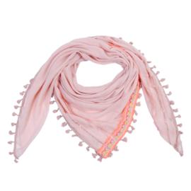Sjaal Neon aztec - roze