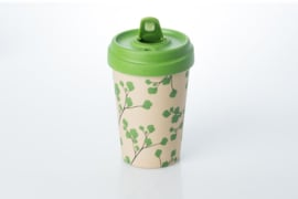 Bamboo cup Ginkgo