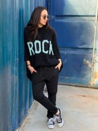 """Trui met tekst """"Rock"""""""