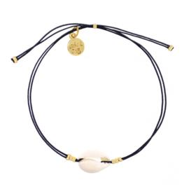 Mini Shell Bracelet (Black) 'Black Chique'