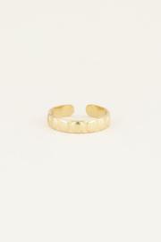 My Jewellery Ring met ovale bolletjes