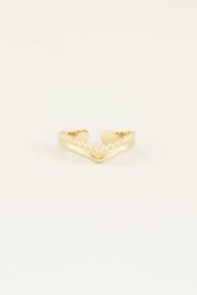 My Jewellery Ring v-vorm