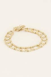 My Jewellery Armbandje dubbele muntjes & sterren