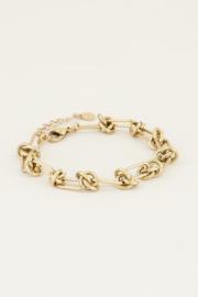 My Jewellery Armband met knoopjes
