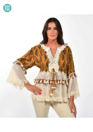 Gypsy Queen top African vibe