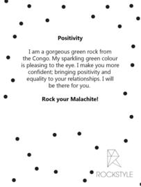 Wenskaart & Malachiet: Positivity