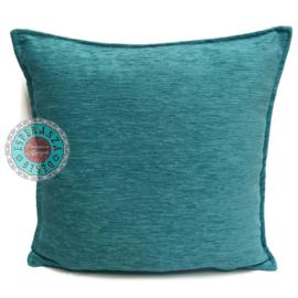 Kussen turquoise 45x45