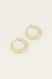 My Jewellery Kleine oorringen met patroon