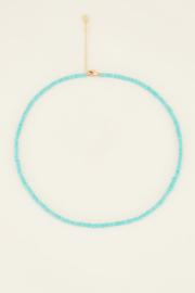 My Jewellery Ketting Moments kralen ketting groen