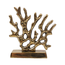 Cardholder Coral - goudkleurig