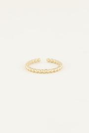 My Jewellery Ring met bolletjes