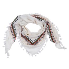 Sjaal Aztec lines - beige