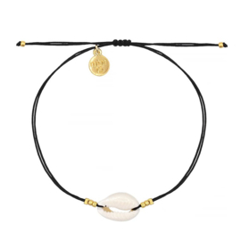 Mint 15 - Little Shell Bracelet – Black