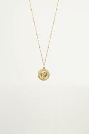 My Jewellery Fijn kettinkje met muntje