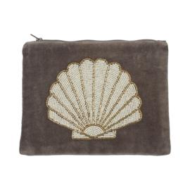 Velvet pouch Shell