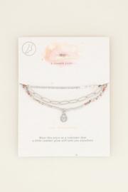 My Jewellery Drielaags enkelbandje