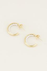 My Jewellery Grote oorringetjes met parels