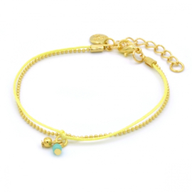 Mint 15 - Little Charm Yellow & Turquoise
