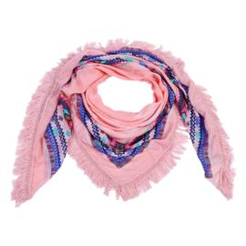 Sjaal Aztec vibes - roze