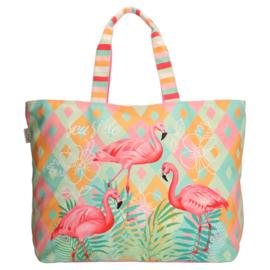 Strandtas  Flamingo