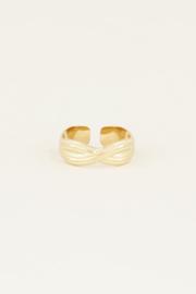 My Jewellery Ring gevlochten