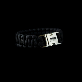 STOER Paracord armband Zwart