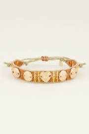 My Jewellery Oranje armband bedels & kraaltjes