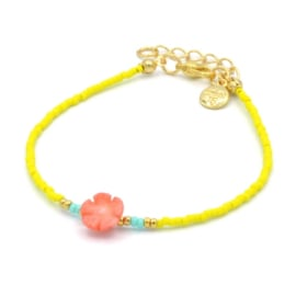 Mint 15 - Hawai flower bracelet - Summer party