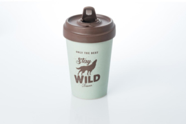 Bamboo cup Stay wild