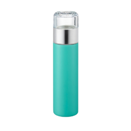 Tea slim thermos - Aqua blue