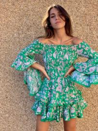 Jaase - Off shoulder jurk Antoinette Primrose