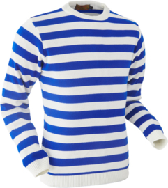 Chenaski Trui blue stripes