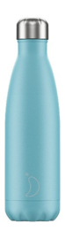 Chilly bottle Pastel blauw - 500ml