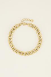 My Jewellery Armband platte schakels