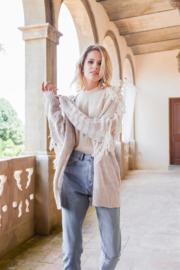 Jaase- Bianca Vest met franjes