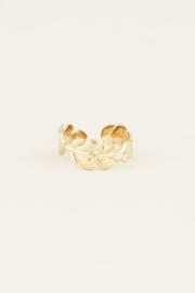 My Jewellery Ring met blaadjes