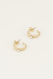 My Jewellery Oorringen bolletjes en parel