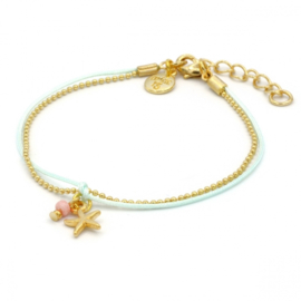 Little charm starfish - Beach pastels
