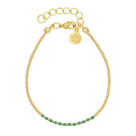 Mint 15 - Little Jade Beads – Emerald Green